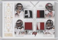 Mike Glennon, Vincent Jackson, Doug Martin, Mike Williams /25