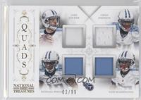 Chris Johnson, Jake Locker, Kendall Wright, Nate Washington /99