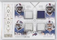 Scott Chandler, Marquise Goodwin, Robert Woods, Steve Johnson /99
