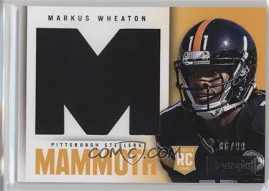 2013 Panini Playbook - Rookie Mammoth Materials #24 - Markus Wheaton /99
