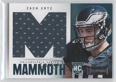2013 Panini Playbook - Rookie Mammoth Materials #40 - Zach Ertz /99