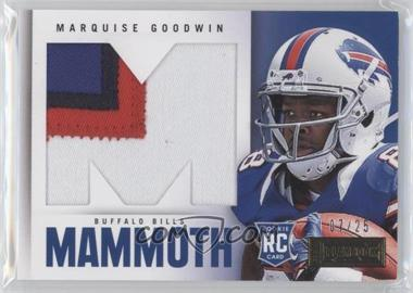 2013 Panini Playbook Rookie Mammoth Materials Prime #25 - Marquise Goodwin /25