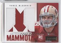 Vance McDonald /25