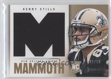 2013 Panini Playbook Rookie Mammoth Materials #18 - Kenny Stills /99