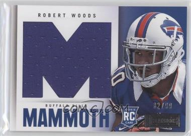2013 Panini Playbook Rookie Mammoth Materials #31 - Robert Woods /99