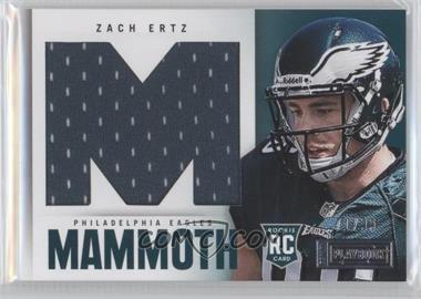 2013 Panini Playbook Rookie Mammoth Materials #40 - Zach Ertz /99