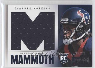 2013 Panini Playbook Rookie Mammoth Materials #5 - DeAndre Hopkins /99