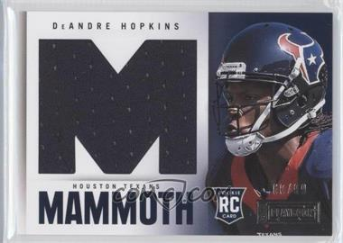 2013 Panini Playbook Rookie Mammoth Materials #5 - DeAndre Hopkins /99