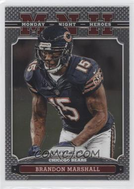 2013 Panini Prizm Monday Night Heroes #5 - Brandon Marshall