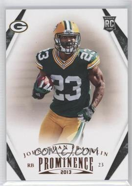 2013 Panini Prominence #141 - Johnathan Franklin