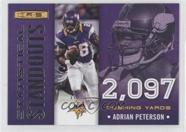2013 Panini Rookies & Stars - Statistical Standouts #4 - Adrian Peterson