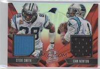 Cam Newton, Steve Smith /25