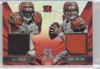 Andy Dalton, A.J. Green /25