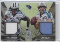 Jake Locker, Chris Johnson /99