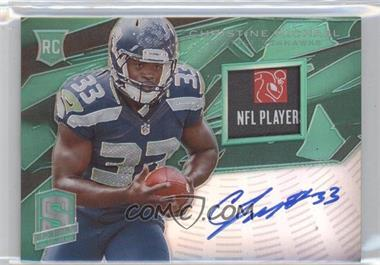 2013 Panini Spectra Rookie Signature Materials Green #203 - Christine Michael /5