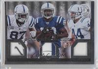 Marvin Harrison, Dallas Clark, Reggie Wayne /25