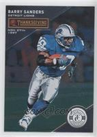 Thanksgiving Day - Barry Sanders