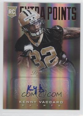 2013 Prestige - [Base] - Extra Points Red Rookies Signatures [Autographed] #251 - Kenny Vaccaro