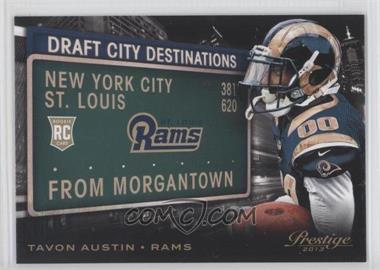 2013 Prestige - Draft City Destinations #2 - Tavon Austin