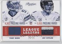 Jay Cutler, Tony Romo /25