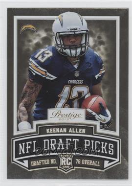 2013 Prestige - NFL Draft Picks - Gold #7 - Keenan Allen