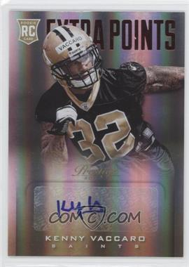 2013 Prestige Extra Points Red Rookies Signatures [Autographed] #251 - Kenny Vaccaro