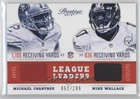 Michael Crabtree, Mike Wallace /199