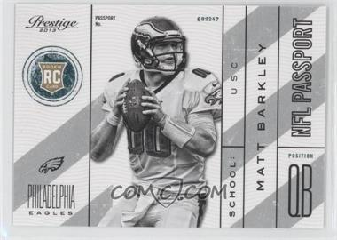 2013 Prestige NFL Passport #22 - Matt Barkley