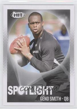 2013 SAGE Hit - [Base] #80 - Geno Smith