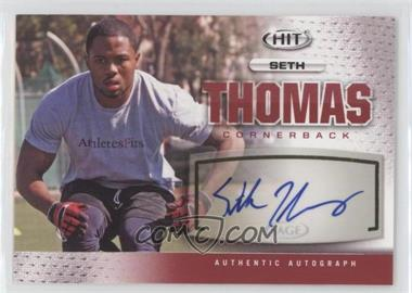 2013 SAGE Hit Autographs #A119 - Seth Thomas