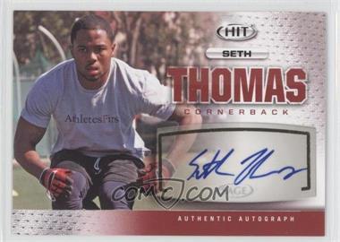 2013 SAGE Hit Autographs #A119 - Seth Thomas