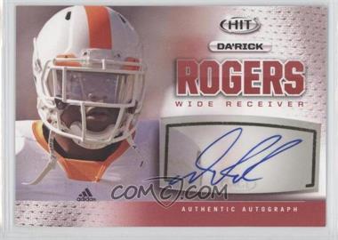2013 SAGE Hit Autographs #A21 - Da'Rick Rogers