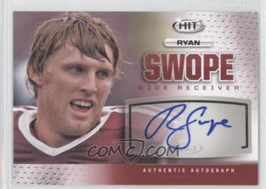 2013 SAGE Hit Autographs #A25 - Ryan Swope