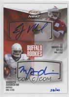 EJ Manuel, Marquise Goodwin /40
