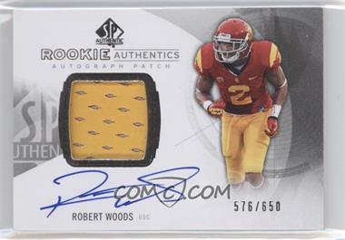 2013 SP Authentic - [Base] #152 - Rookie Patch Autographs - Robert Woods /650