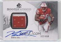 Rookie Patch Autographs - Montee Ball /650