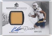 Rookie Patch Autographs - Keenan Allen /325