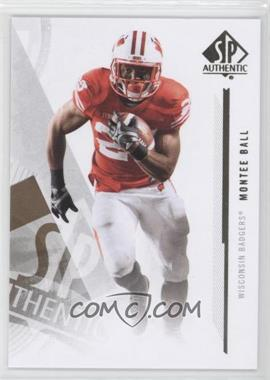 2013 SP Authentic - [Base] #28 - Montee Ball