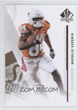 2013 SP Authentic - [Base] #55 - Marquise Goodwin