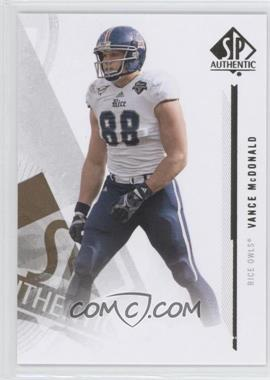 2013 SP Authentic - [Base] #96 - Vance McDonald