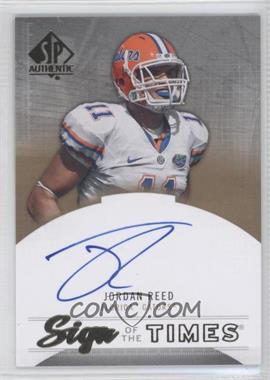 2013 SP Authentic - Sign of the Times #ST-RE - Jordan Reed