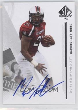2013 SP Authentic Autographs #108 - Marcus Lattimore