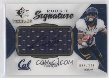 2013 SP Authentic Rookie Threads Autograph Jerseys #RT-KA - Keenan Allen /275