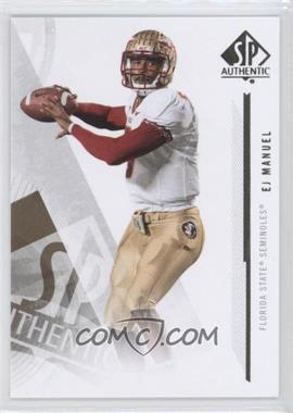 2013 SP Authentic #100 - EJ Manuel