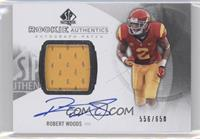 Rookie Patch Autographs - Robert Woods /650