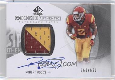 2013 SP Authentic #152 - Rookie Patch Autographs - Robert Woods /650