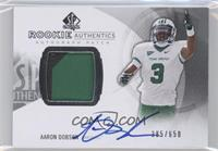 Rookie Patch Autographs - Aaron Dobson /650