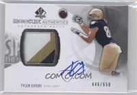 Rookie Patch Autographs - Tyler Eifert /650