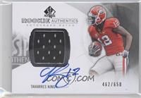 Rookie Patch Autographs - Tavarres King /650