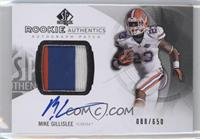 Rookie Patch Autographs - Mike Gillislee /650